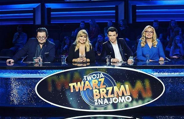 Jury 'Twoja twarz brzmi znajomo 9' (Paweł Królikowski, Katarzyna Skrzynecka, Kacper Kuszewski i Małgorzata Walewska)