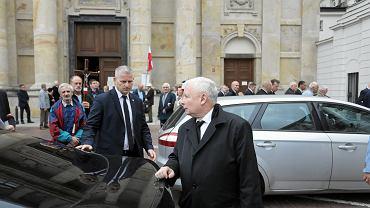 10.09.2019, Warszawa, Jarosław Kaczyński podczas 113. miesięcznicy smoleńskiej.