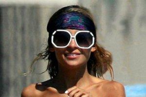 Nicole Richie na plaży w Malibu