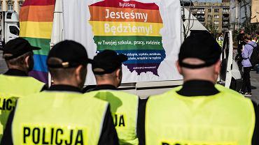 6.10.2018, Wrocław, X Marsz Równości.