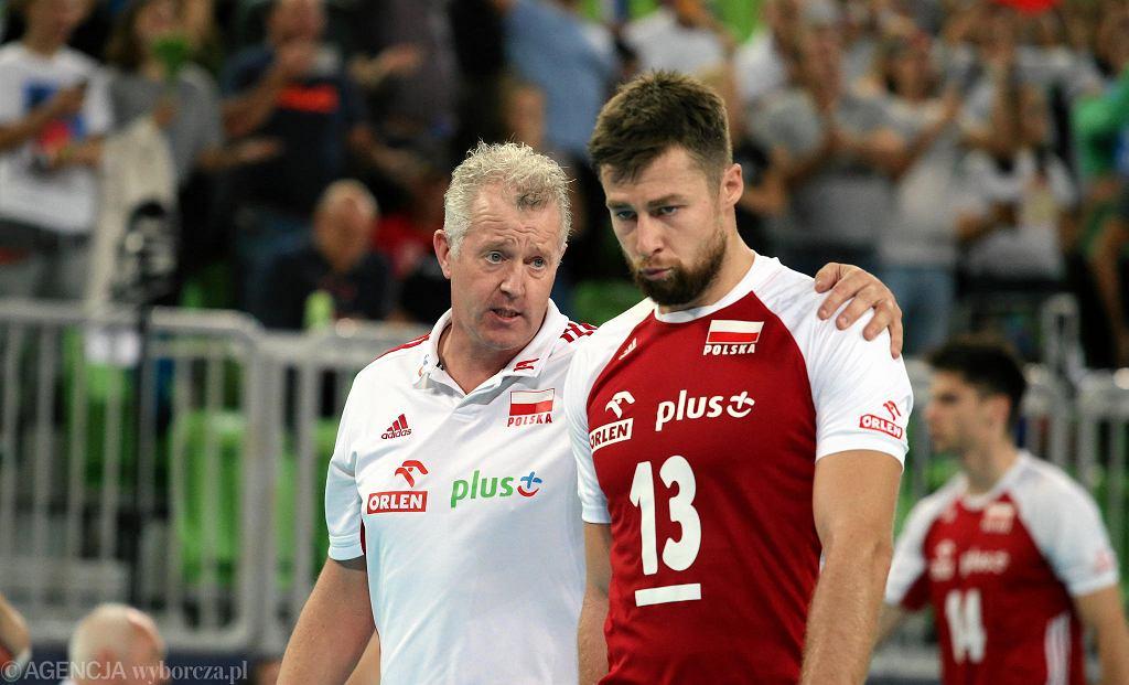 Vital Heynen i Michał Kubiak, kapitan reprezentacji Polski