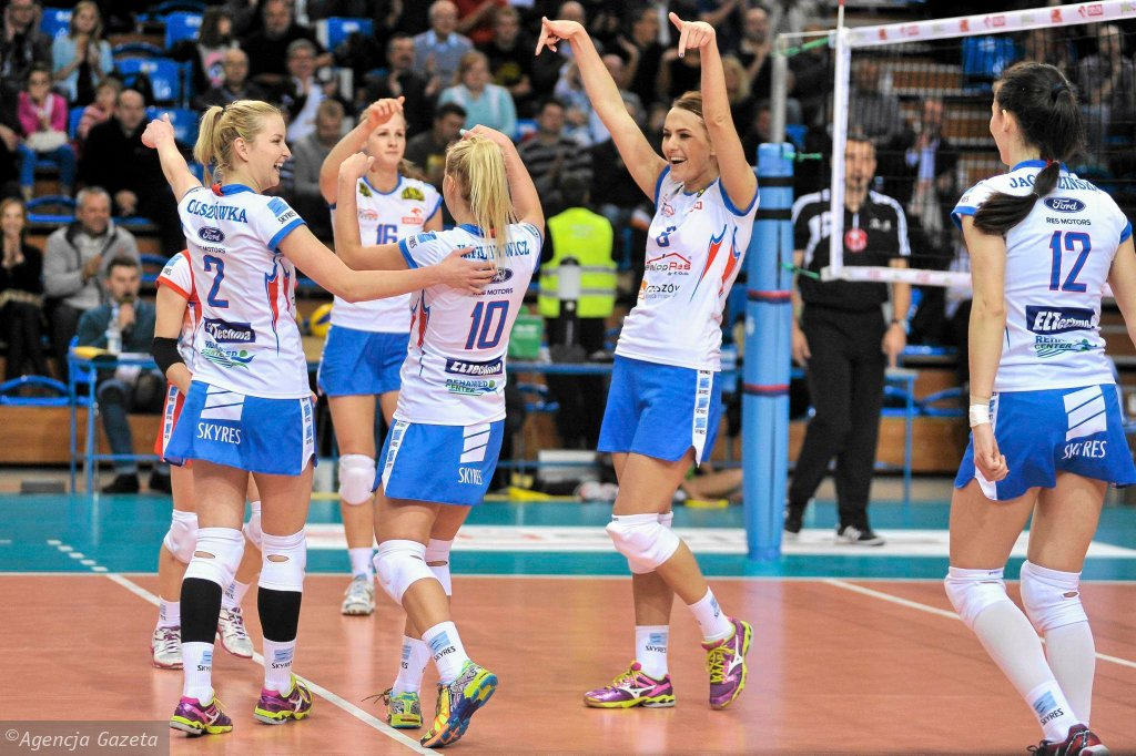 Siatkarki Developresu SkyRes Rzeszów odniosły drugie zwycięstwo w ORLEN Lidze.