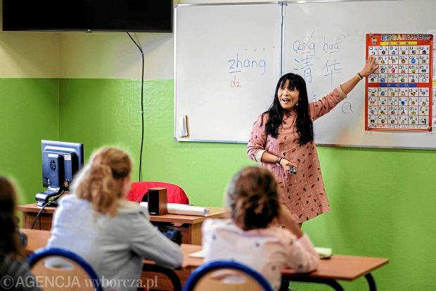 """""""Cześć"""", czyli """"ni hao"""". W Rzeszowie przedszkolaki i licealiści za darmo uczą się języka chińskiego"""