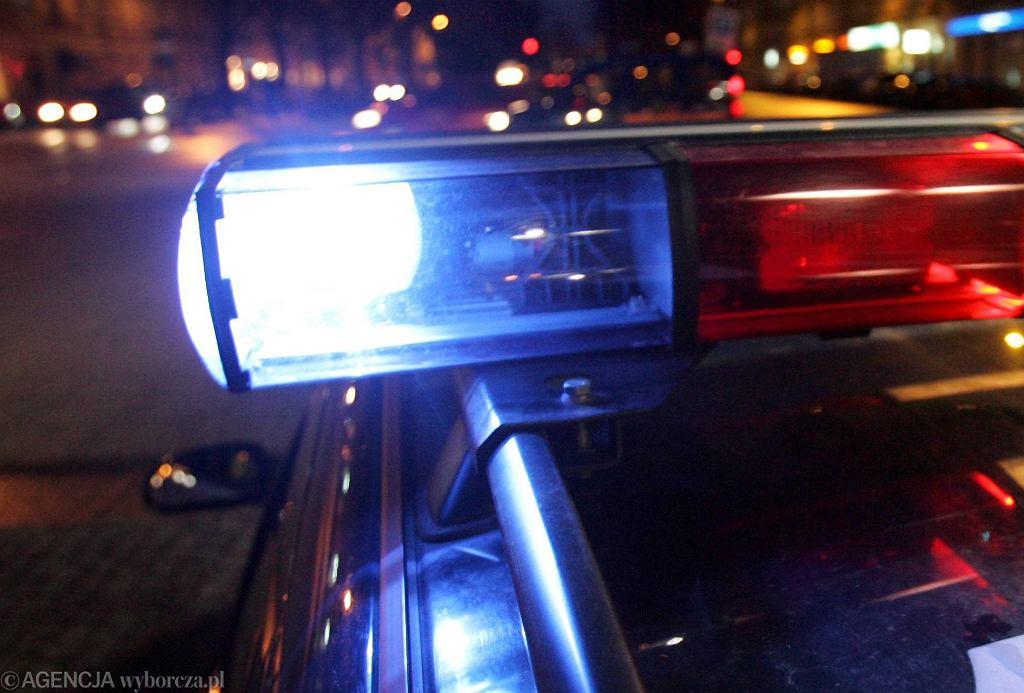 Policja. Zdjęcie ilustracyjne