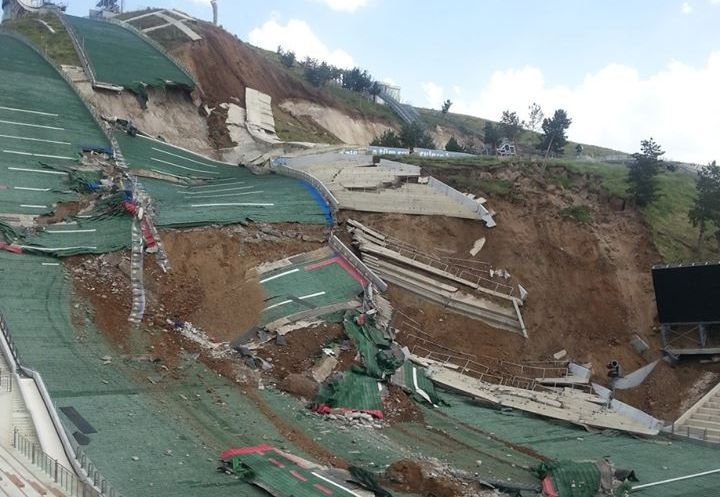 Katastrofa skoczni w Erzurum