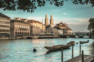Zurych - miasto nad wodą