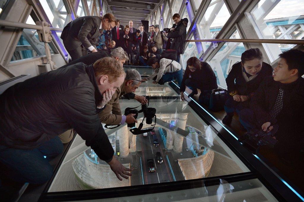 Szklana podłoga, Tower Bridge
