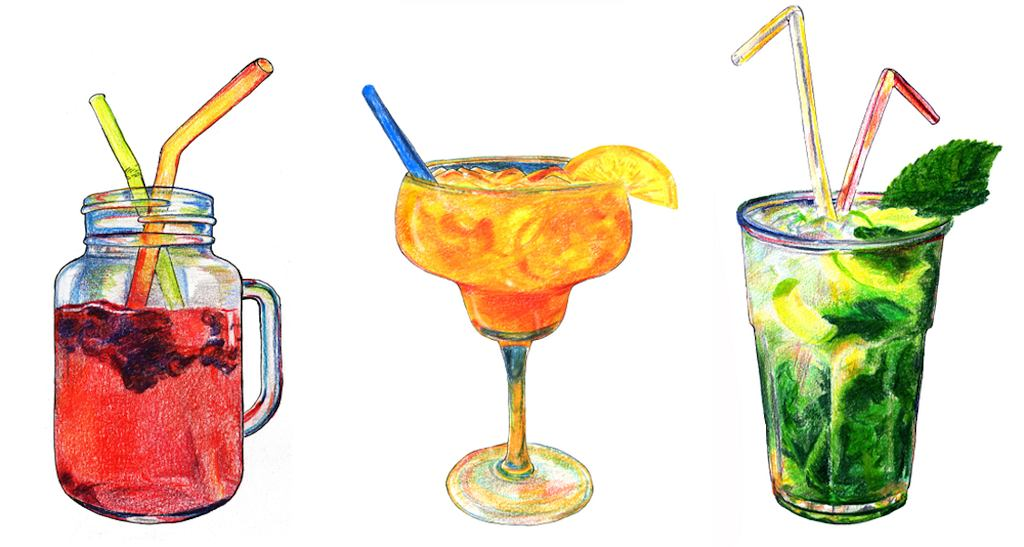 Drinki bezalkoholowe często bazują na tych samych składnikach, co drinki z alkoholem. Oczywiście różnica jest jedna - brak procentów