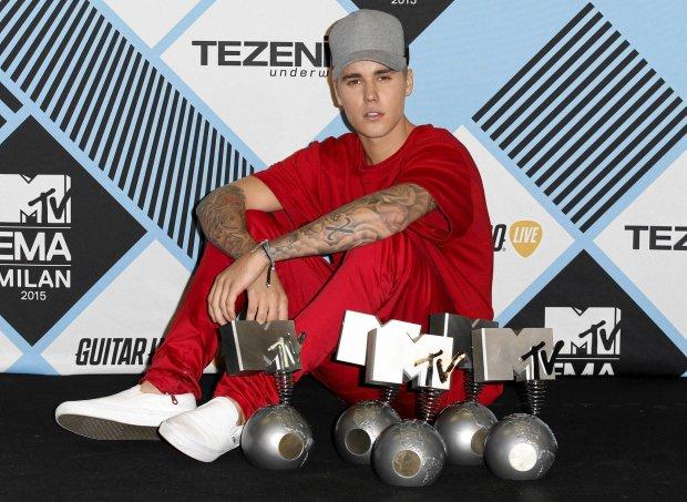 Zdjęcie numer 1 w galerii - Justin Biebier wielkim wygranym MTV EMA. A co dostali przegrani?