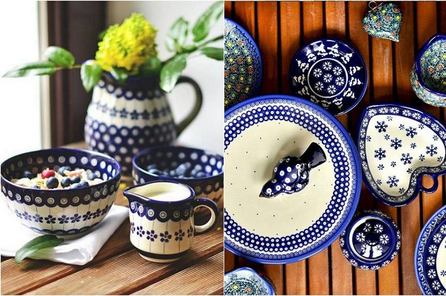 Polska porcelana Bolesławiec cieszy się uznaniem w całym kraju.