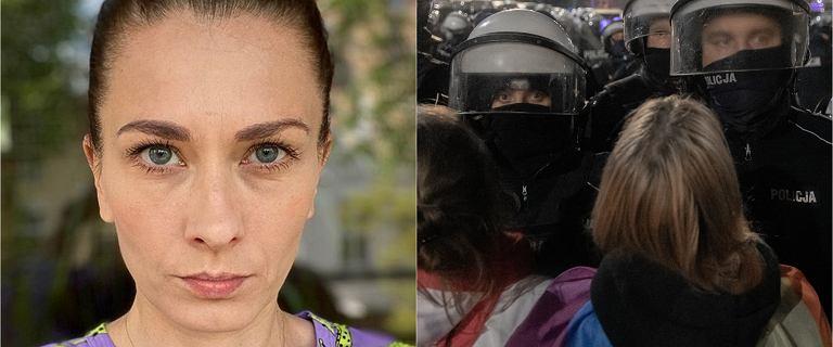 """Anita Sokołowska udostępniła wiadomość od policjantki. """"Jesteśmy także kobietami"""""""