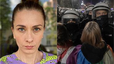 Policjantka: Nie godzę się na #wyroknakobiety i nie przyłożę ręki do tego, aby to blokować. Jej wiadomość pokazała Sokołowska