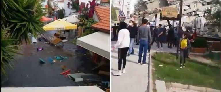 Potężne trzęsienie ziemi w Turcji i Grecji. Są ofiary śmiertelne