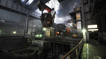 Kombinat metalurgiczny Siewierstal w Czerepowcu w północnej Rosji.