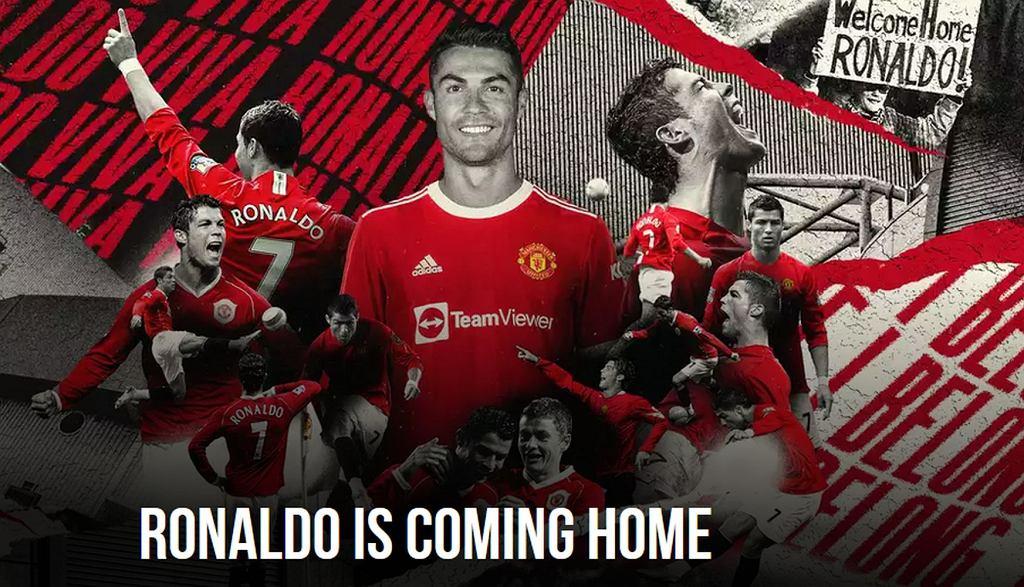 Cristiano Ronaldo w Manchesterze United
