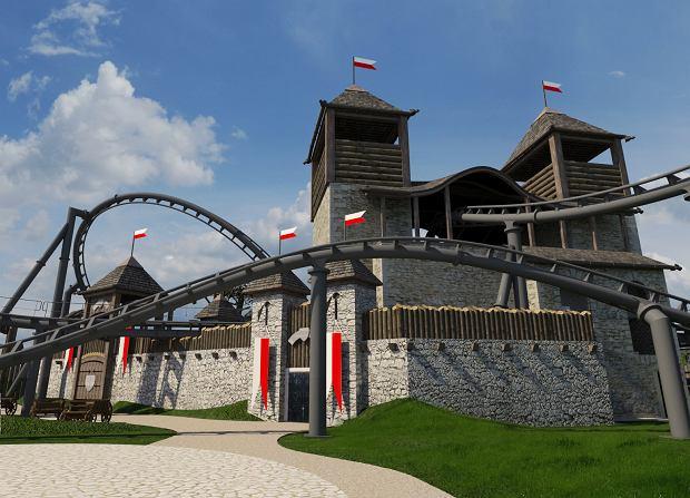 Lech Coaster będzie największą kolejką górską w Europie Środkowej i Wschodniej