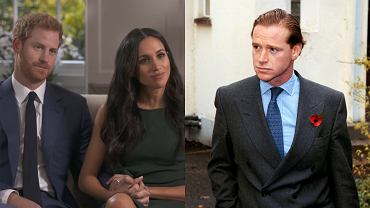 książę Harry, Meghan Markle, James Hewitt