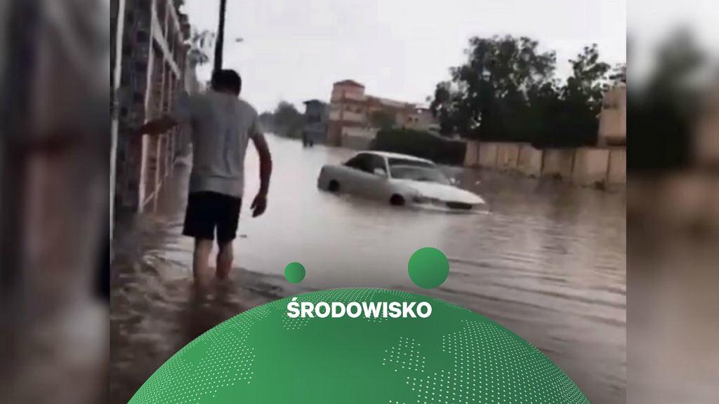 Rekordowe ulewy wywołały powodzie błyskawiczne w Dżibuti