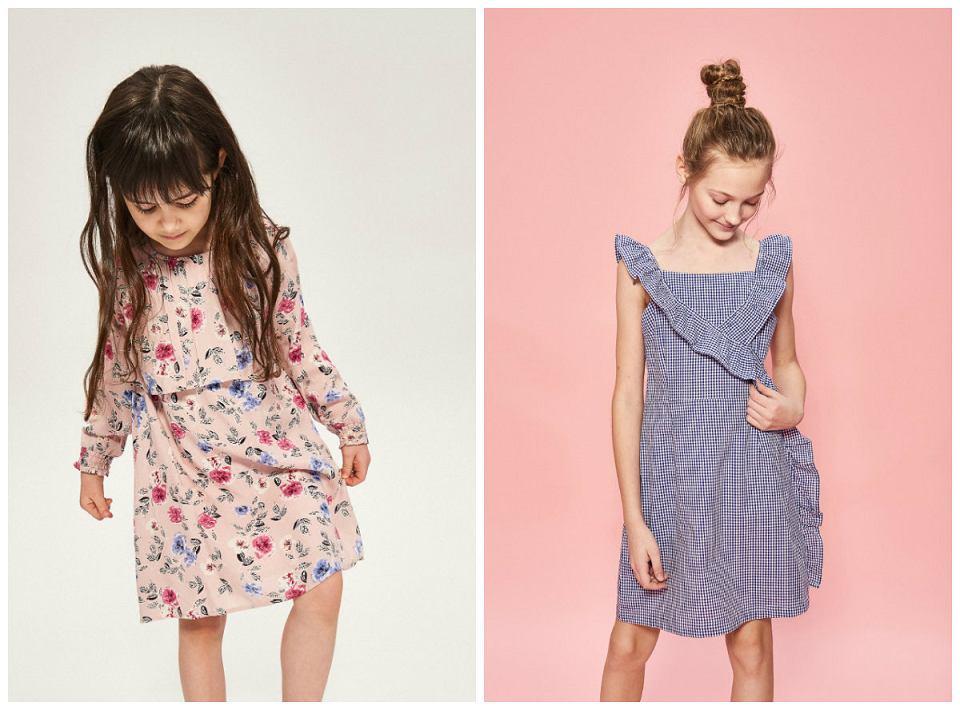 sukienki dla dziewczynki Reserved Kids