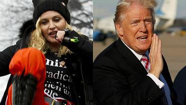Madonna, Donald Trump