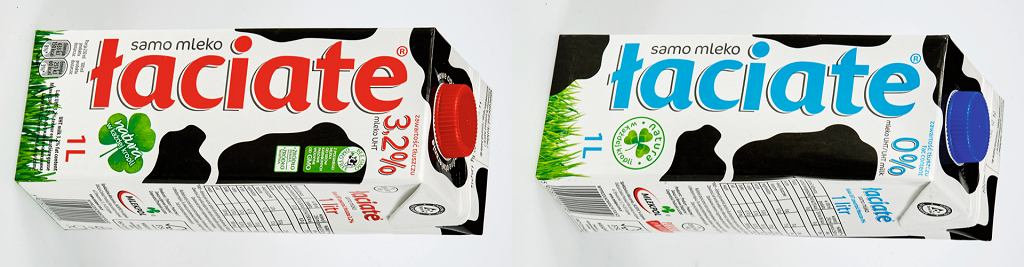 Mleko 3,2% vs mleko 0%