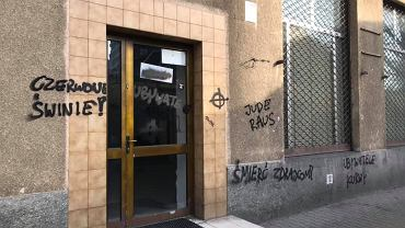 Antysemickie i wulgarne napisy na siedzibie Obywateli RP