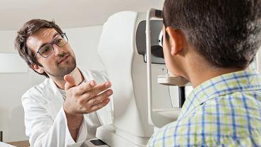 Badanie pola widzenia ma na celu zdiagnozowanie m.in jaskry