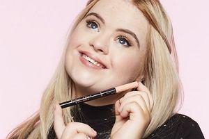 Modelka z zespołem Downa została ambasadorką znanej marki kosmetycznej