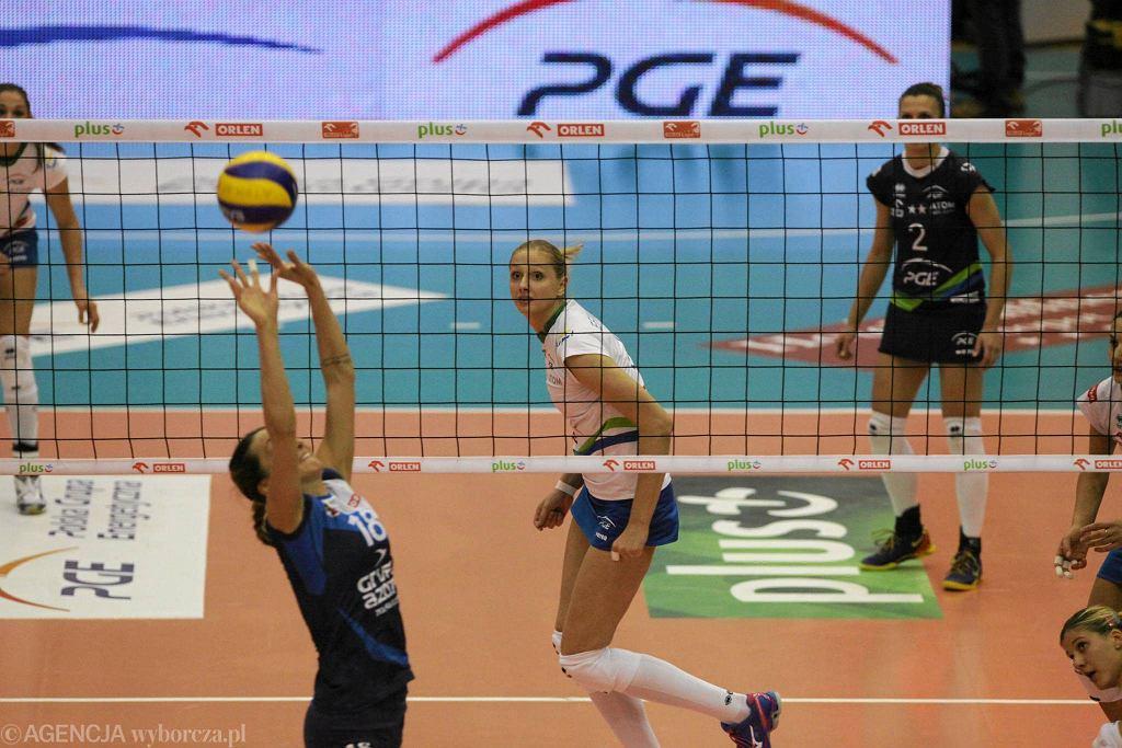 Maja Ognjenović w meczu z Atomem
