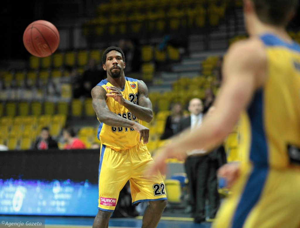 Koszykarz Asseco Gdynia A.J. Walton