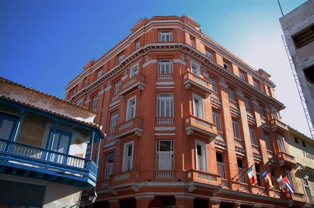 Hotel Ambos Mundos w Hawanie