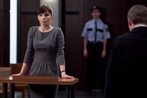 Agnieszka Dygant w roli pozwanej Agaty Przybysz
