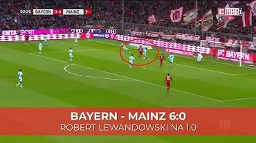 Robert Lewandowski strzelił gola w meczu z FSV Mainz