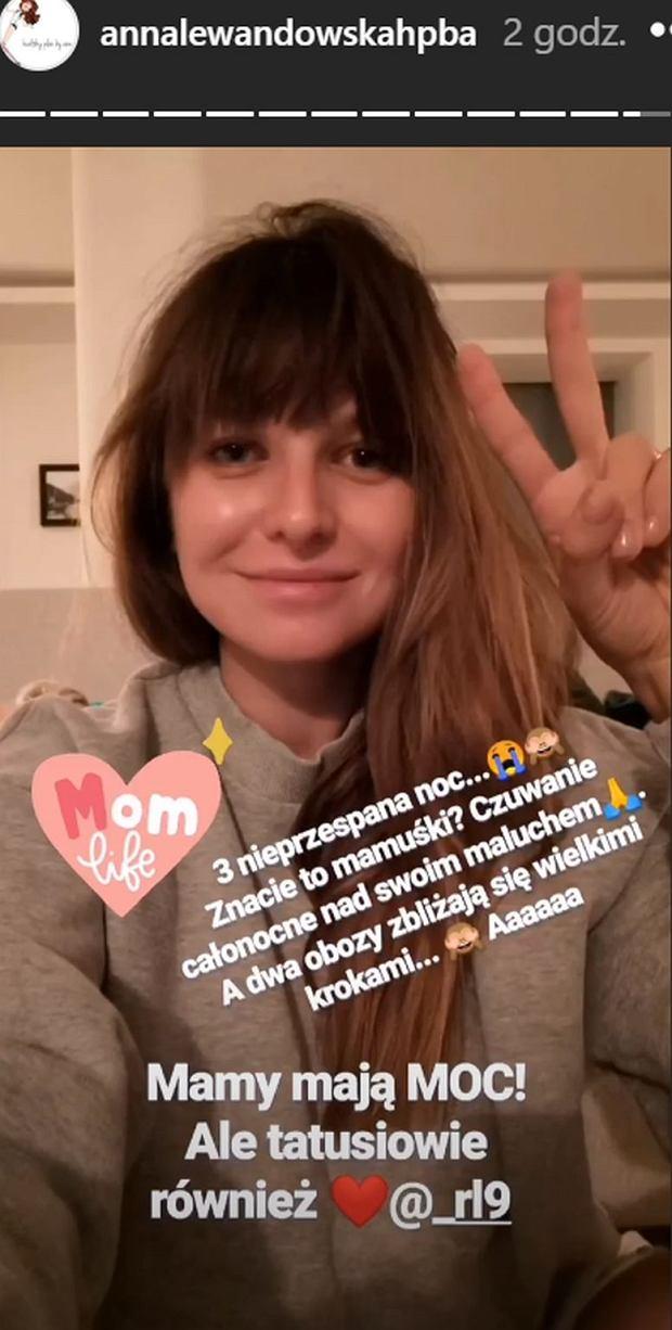 Anna Lewandowska nie śpi już trzecią noc. Czuwa przy Klarze