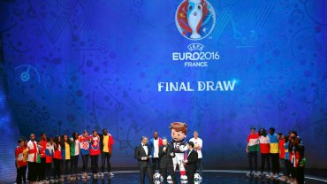 Gala losowania Euro 2016