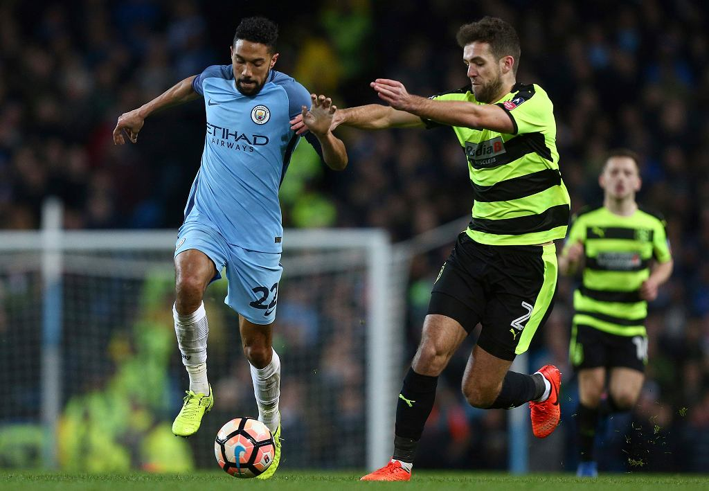 Mecz Manchester City - Huddersfield Town w Pucharze Anglii