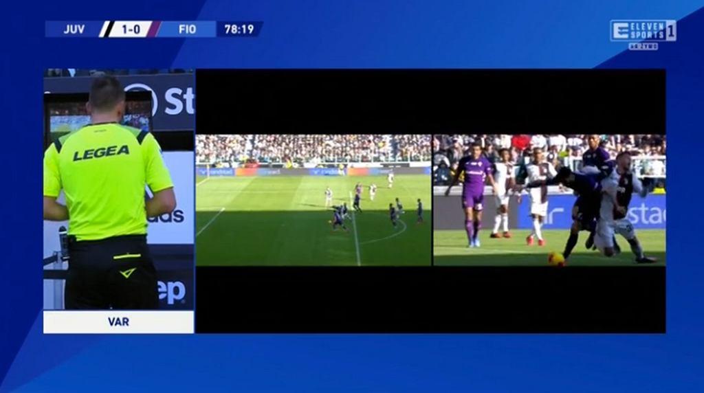 Burza w Serie A po meczu Juventusu z Fiorentiną