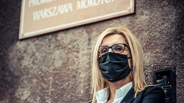 Prokurator Ewa Wrzosek. Warszawa, 24 kwietnia 2019
