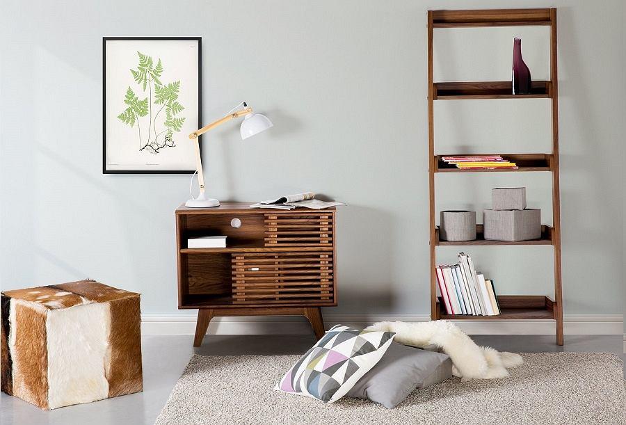 Drewniane meble i dodatki do mieszkania.