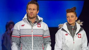 Oficjalna prezentacja Kolekcji Olimpijskiej Soczi 2014. Mariusz Czerkawski i Monika Hojnisz