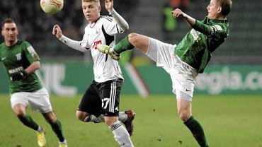 Legia wygrała z Olimpią Grudziądz w ćwierćfinale Pucharu Polski 4:1.