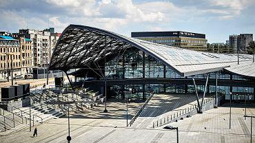 Dworzec Fabryczny w Łodzi. Nowy budynek został oddany do użytku w 2016 roku
