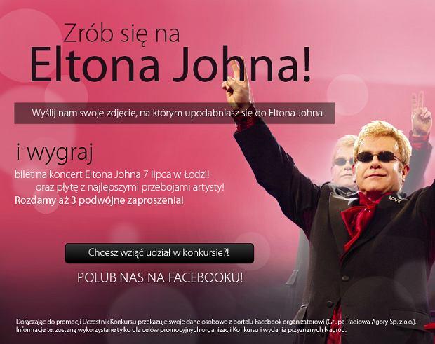 Bądź jak Elton John, grafika A