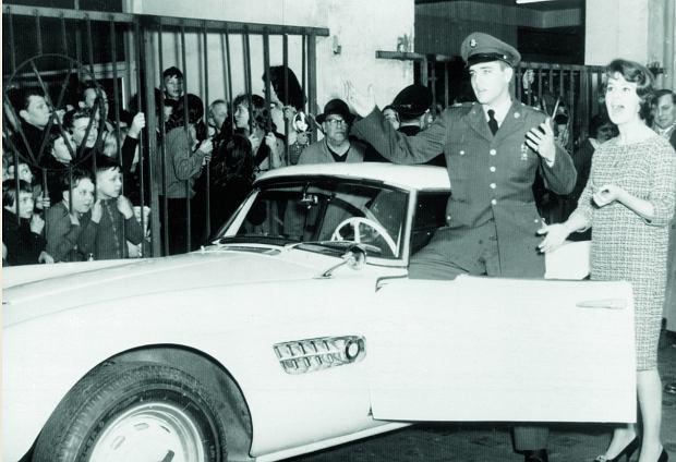 BMW 507 Elvisa Presleya