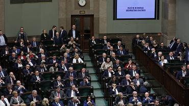 2.03.2020, specjalne posiedzenie Sejmu w związku z ustawą o koronawirusie.