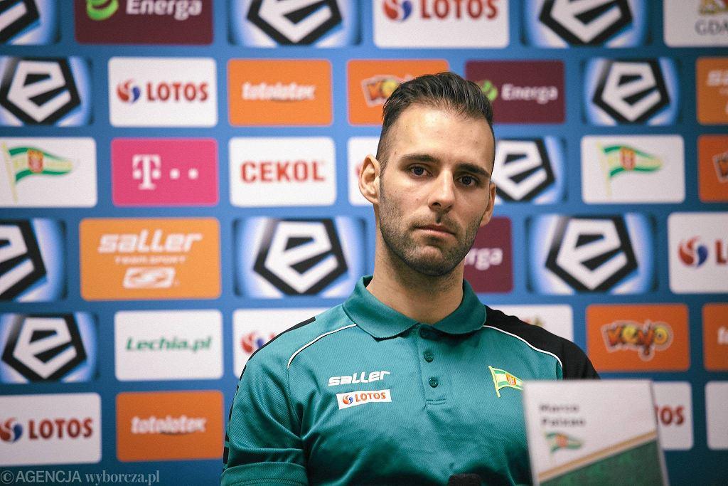 Marco Paixao, były piłkarz Śląska Wrocław, obecnie zawodnik Lechii Gdańsk