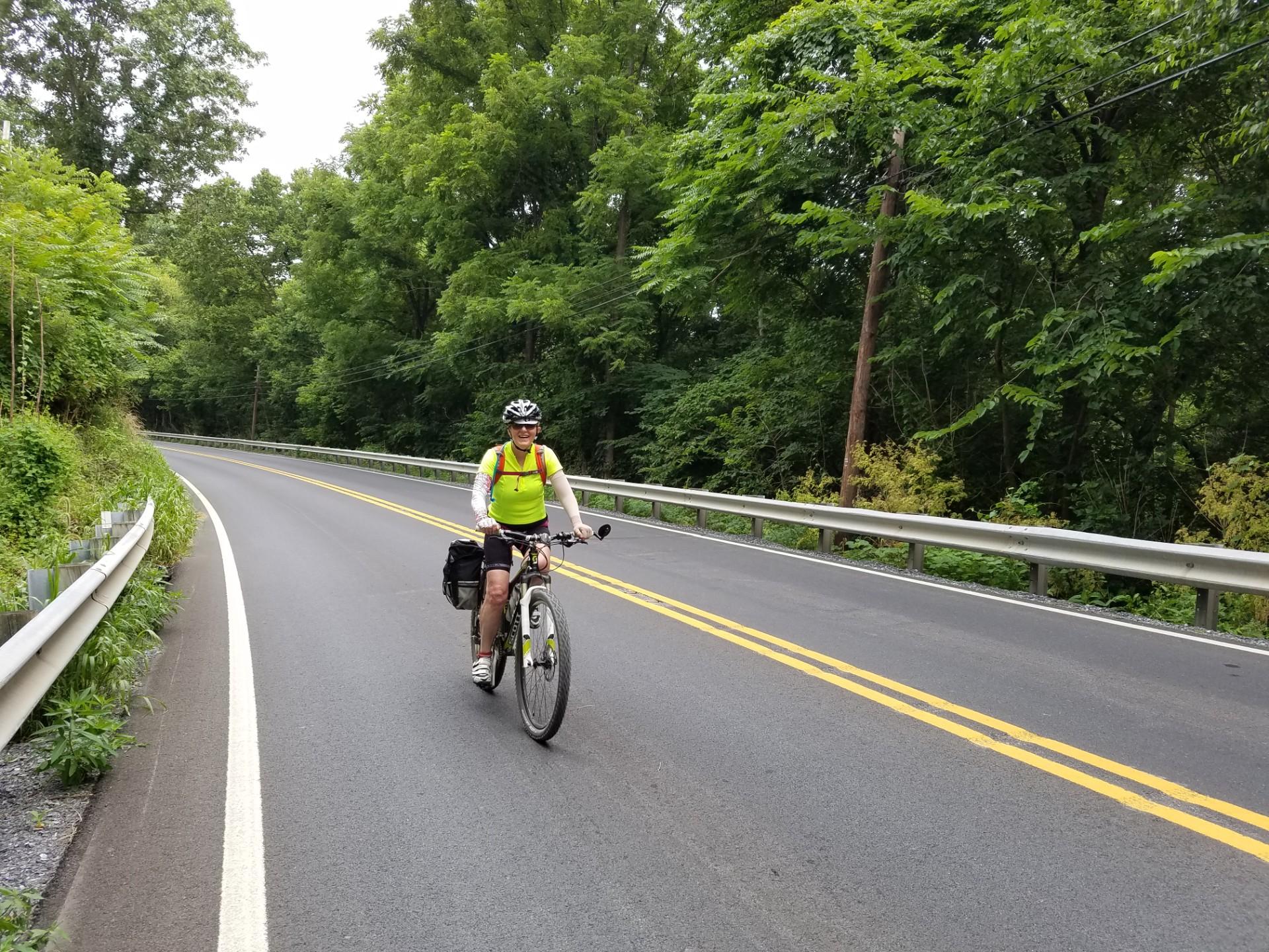 Barbara zawsze była bardzo aktywna - jeździ na rowerze, biega (fot: materiały archiwalne)