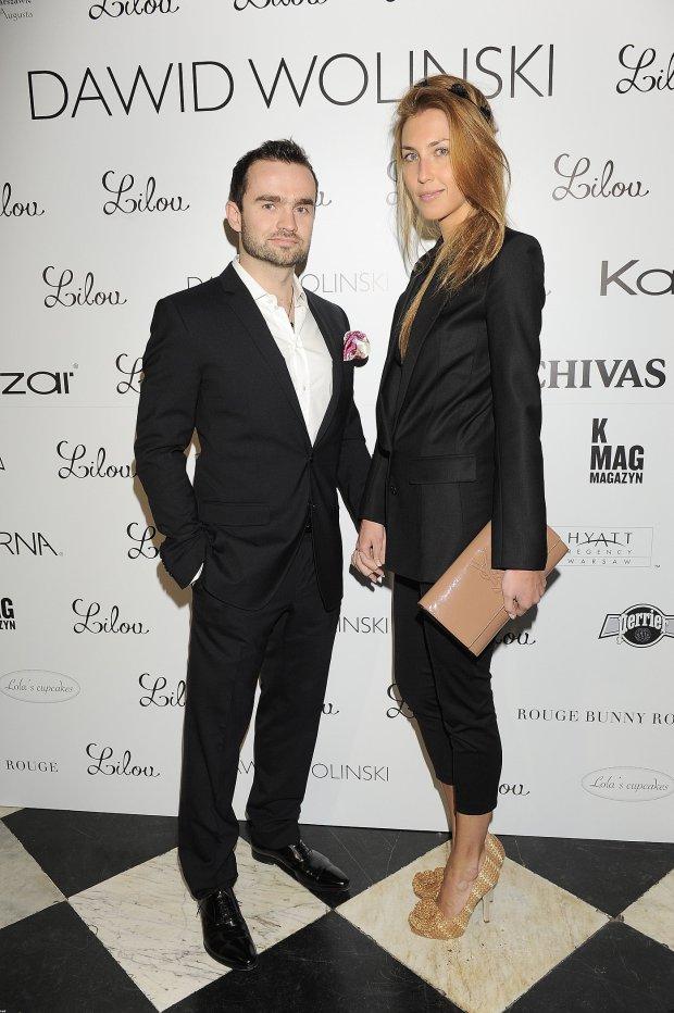 Sebastian Kulczyk z żoną Katarzyną
