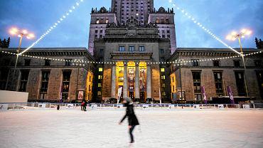 Lodowisko pod Pałacem Kultury i Nauki