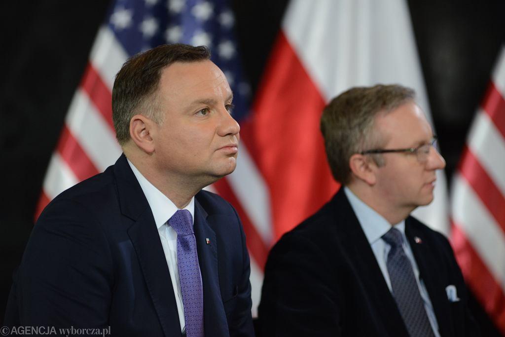 Andrzej Duda i Krzysztof Szczerski